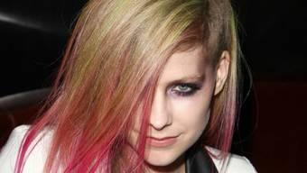 Krank, aber nicht suchtkrank: Avril Lavigne (Archiv)