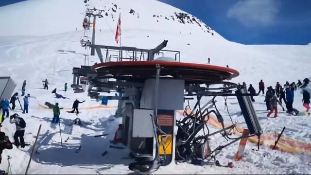 Unfall-Sessellift von Georgien auch in der Schweiz
