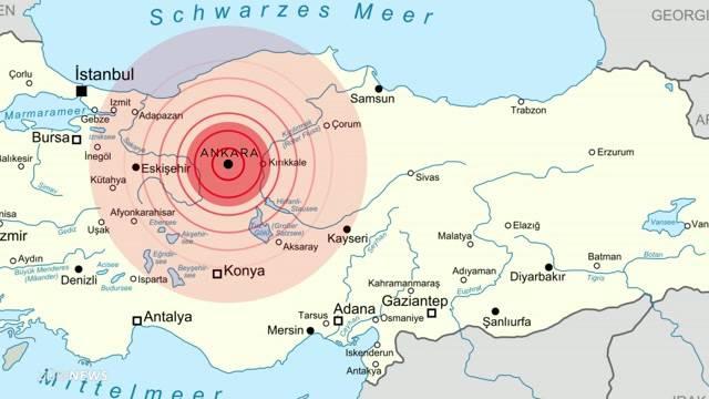 Reisewarnung für gesamte Türkei