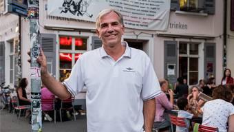 SVP-Regierungsratskandidat Lorenz Nägelin geht auf alle Menschen zu. Selbst auf solche aus der linksalternativen Szene.