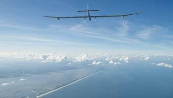 Solar Impulse kehrt als Passagier in die Schweiz zurück (Archiv)