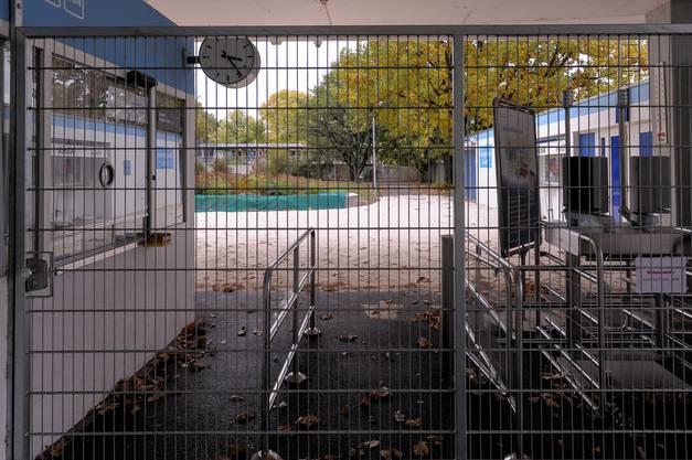 Fertig Sommer: Gartenbad Bachgraben geschlossen.