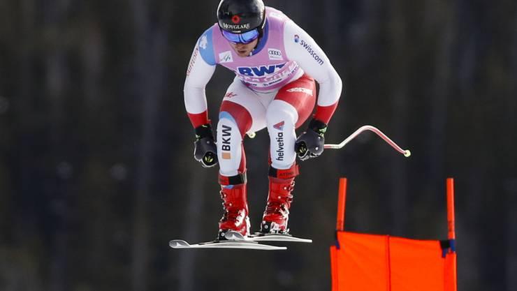 Mauro Caviezel klassierte sich als bester Schweizer als Elfter