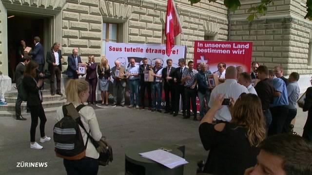 Schweizer Recht statt fremde Richter