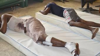 Opfer eines der vielen Angriffe der islamischen Fanatiker von Boko Haram im Norden Nigerias.