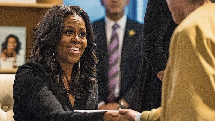 Ein Vorbild für Millionen: Michelle Obama auf Buchtour.