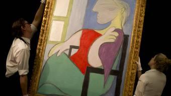 """Über 40 Millionen Franken für Picassos """"Sitzende Frau am Fenster"""""""