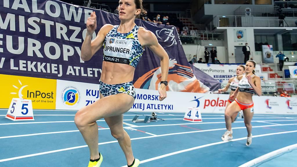 Titelverteidigerin Lea Sprunger verpasst den Final über 400 m