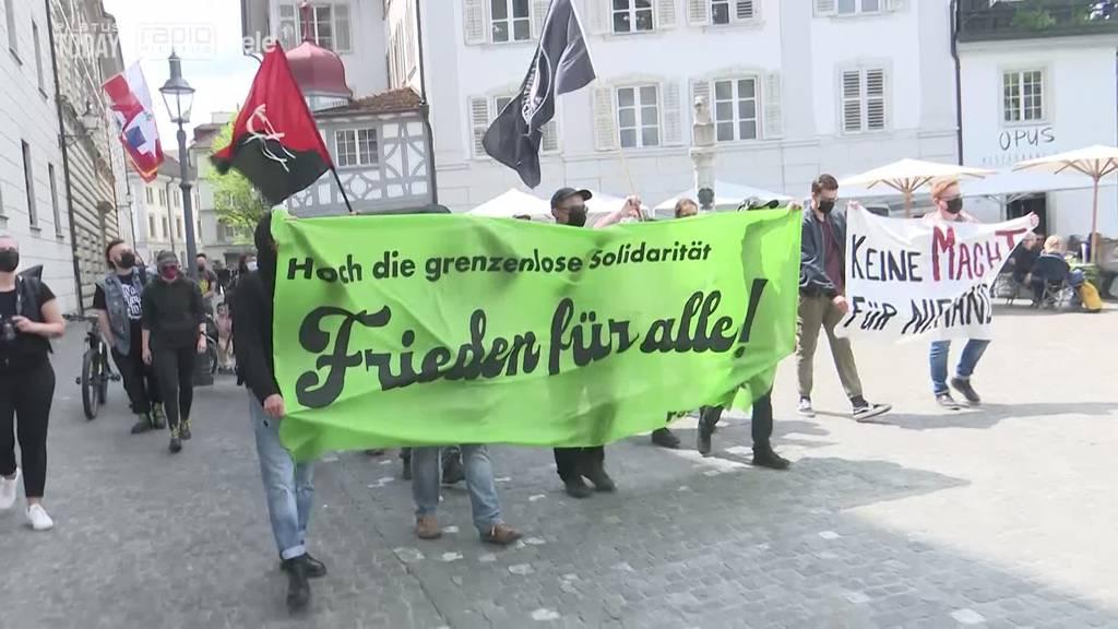 Demo will Zeichen gegen Krieg setzen