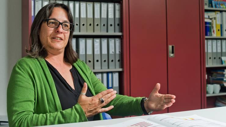 Cornelia Breitschmid, Leiterin des kantonalen Sozialdienstes, hat gekündigt