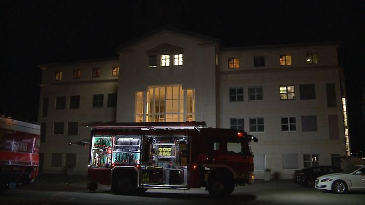 Brandalarm im Bezirksgefängnis Unterkulm