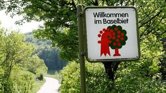 Klare Grenzen: Ja zur Zusammenarbeit. Aber die Grenzen des Baselbiets bleiben unangetastet, fordert das neue Komitee. (Bild: Nicole Nars Zimmer)