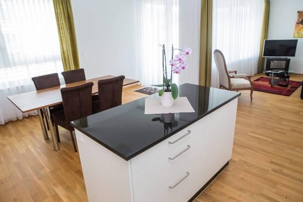 Blick in eines der Business-Apartments der Tertianum-Residenz Solothurn