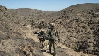 Französische Soldaten auf Patrouille in Mali (Archiv)