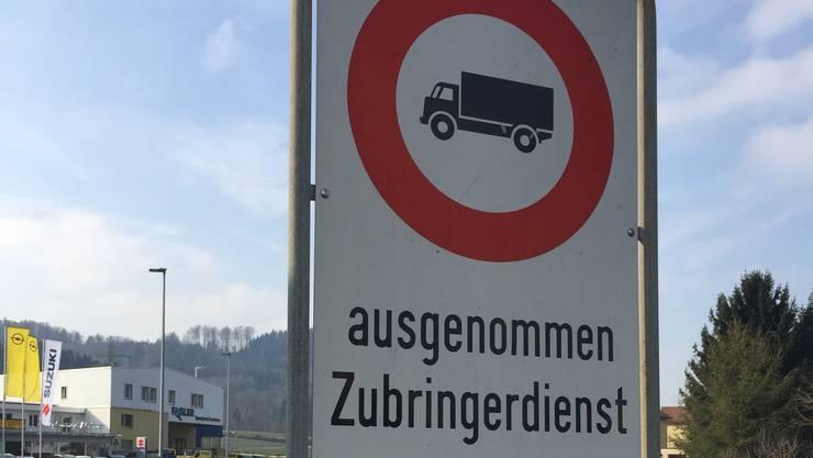Das Verbot an der Ringstrasse wird temporär aufgehoben.