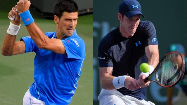 Djokovic und Murray sind ohne Probleme ins Turnier gestartet.