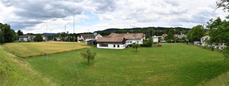 130 Wohneinheiten soll der Auenpark dereinst umfassen.