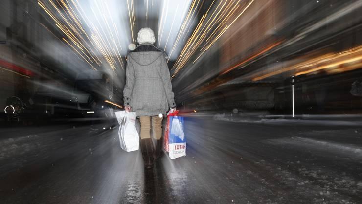 Die Zukunft für die «Shoppingmeile Solothurn» sieht aktuell nicht gerade strahlend aus.