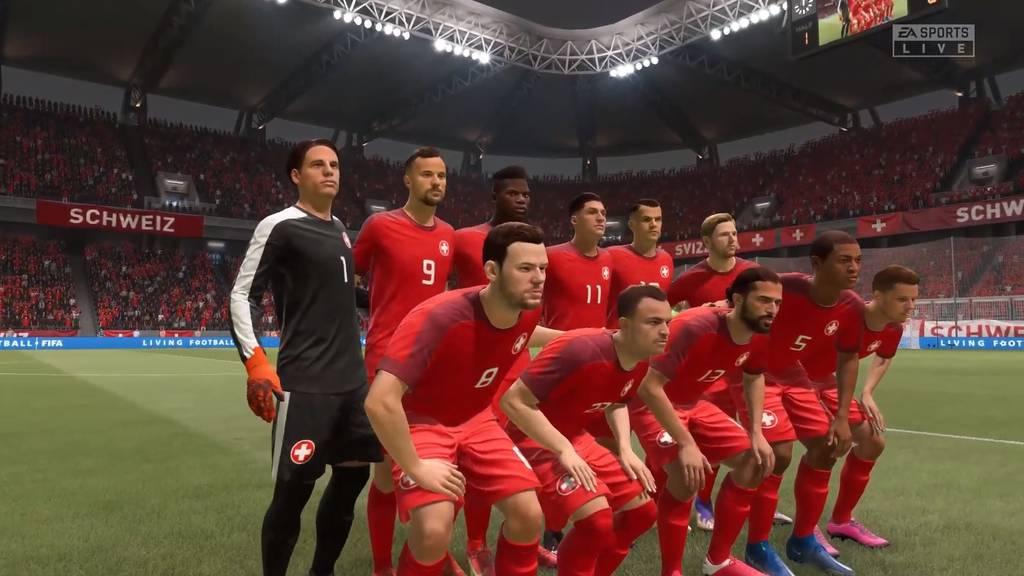 Die Schweiz wird aus «FIFA 22» gestrichen