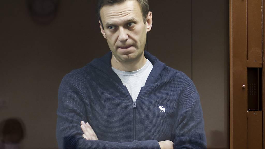 Nawalny im Hungerstreik: Kreml sieht keinen Grund zum Handeln