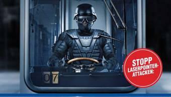 VBZ-Kampagne gegen Laserpointer