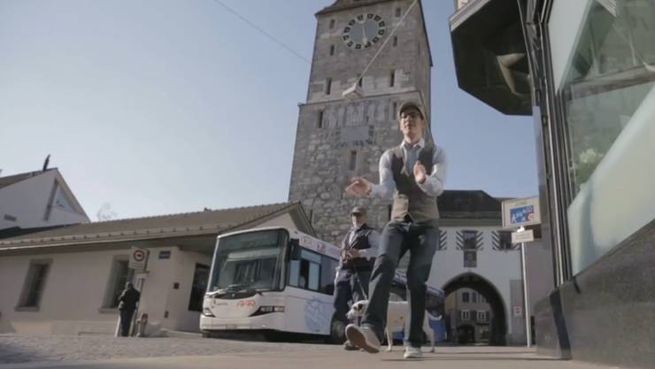 Das Aarauer Video zum Song von Pharell Williams feierte Premiere.