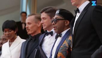 """Standing Ovations fürSpikeLee in Cannes: Der US-Regisseur stellte in Südfrankreich seinen neuen Film """"BlacKkKlansman"""" vor, in dem er mit dem Rassismus in den USA abrechnet und ein kritisches Bild von Präsident Donald Trump zeichnet."""