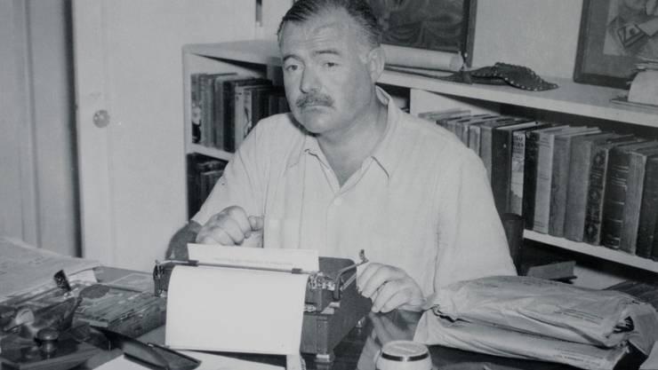 """""""Schreibe betrunken, überarbeite nüchtern"""", riet Ernest Hemingway. Viele Autoren hielten es ähnlich, wie Bestände des Deutschen Literaturarchivs in Marbach belegen (Archiv)."""