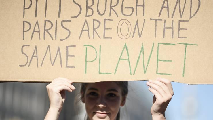 Kündigung Des Klimavertrags Stösst In Den Usa Auf Widerstand