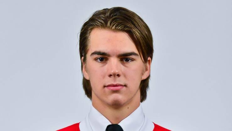 Das offizielle Portrait von Nico Hischier.