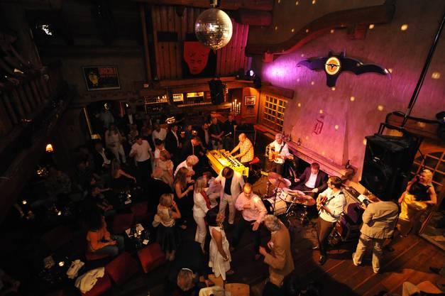 Der Dracula Club ist schon seit Jahren das Zentrum des St. Moritzer Kulturfestivals.