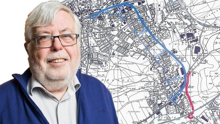 Beat Rüetschi, ehemaliger Gemeindepräsident: «Das Projekt ist gut und es ist der einzige Weg, unser Verkehrsproblem zu lösen.»
