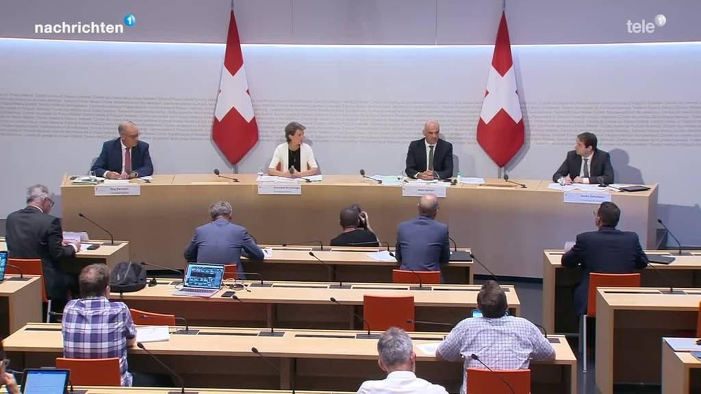 Bundesrat zu Grossanlässen