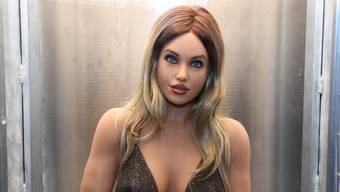 Weibliche Modelle in der Überzahl: Sexroboter Harmony.