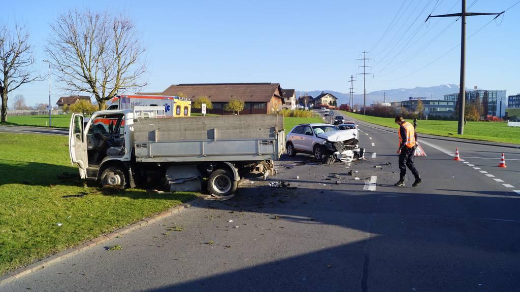 Schwerverletzter nach Unfall