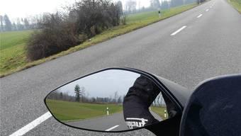 Zwischen Muri und Geltwil wird die Geschwindigkeit oft überschritten. (Symbolbild)