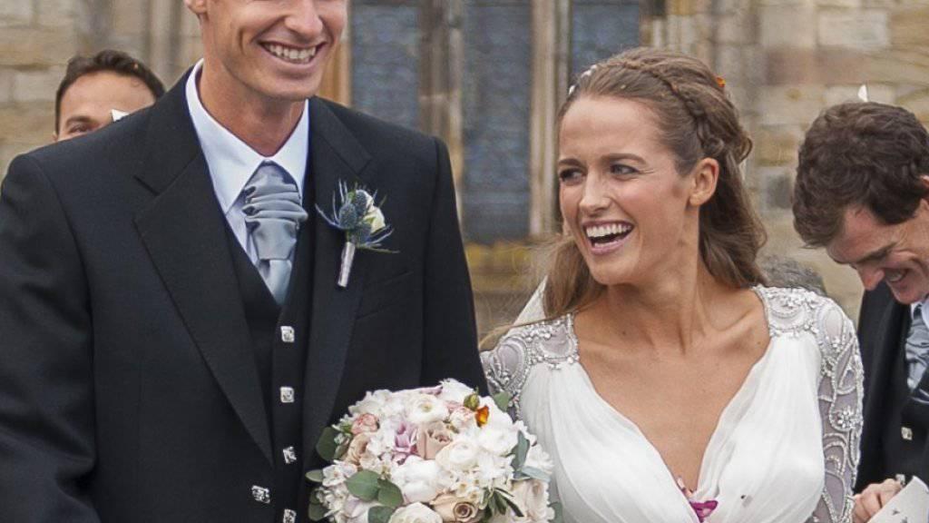 Andy Murray und Kim Sears sind seit 2015 verheiratet und haben bereits eine einjährige Tochter Sophia