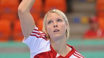 Nicole Dinkel schiesst ihre Tore in der Bundesliga und im Nati-Dress. alexander wagner