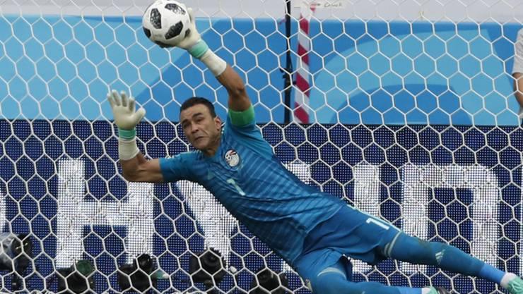 Nach 159 Länderspielen beendet Ägyptens Goalie Essam el-Hadary seine Nationalmannschaftskarriere