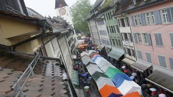 Der Bremgarter Pfingstmarkt 2019 - heuer fällt er ins Wasser.