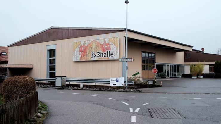 In dieser Halle in Hunzenschwil begeht die evangelisch-methodistische Gemeinde ihre Gottesdienste.
