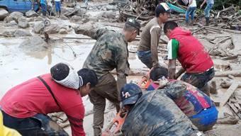 Überschwemmungen in Kolumbien