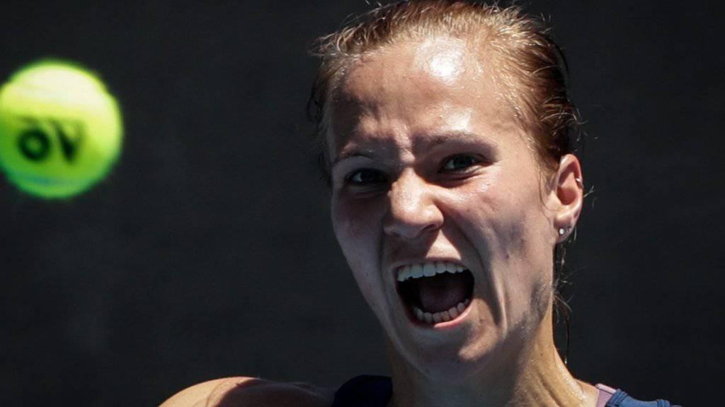 Viktorija Golubic hat seit letztem Herbst das Siegen verlernt