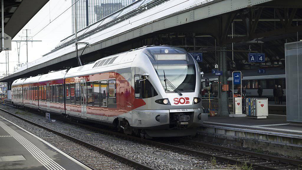 Der Zughersteller Stadler Rail hat im vergangenen Jahr Gas gegeben: Mit einem Umsatzsprung lässt das Unternehmen den Frankenschock hinter sich. (Archiv)