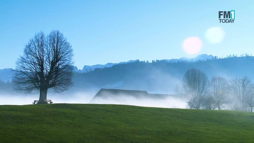 Mystische Stimmung in der Ostschweiz