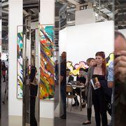 Die Art Basel ist eröffnet. Hier mit einem Werk aus der Galerie König, Berlin: Jeppe Hein, «Parallel Mirrors», 2015.