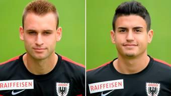 Die beiden FCA-Spieler Sandro Foschini und Daniele Romano werden bis Ende der Saison an Lausanne-Sport beziehungsweise an Winterthur ausgeliehen.