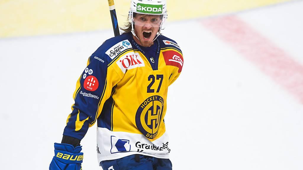 Magnus Nygren noch lange beim HC Davos