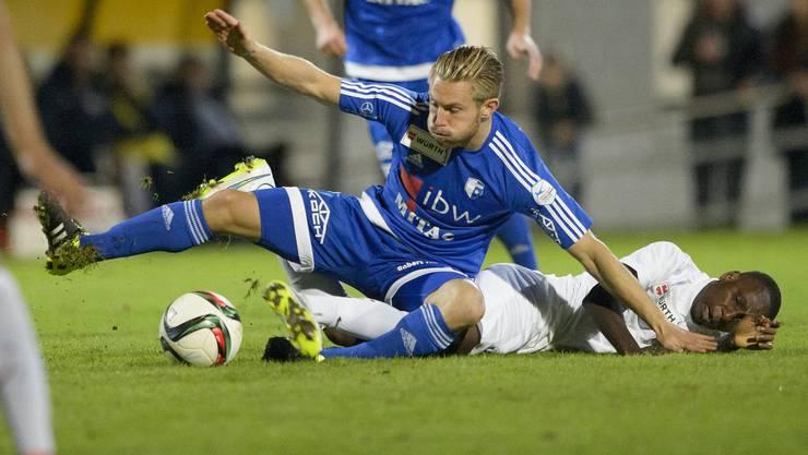 Der FC Wohlen strauchelt über Le Mont.