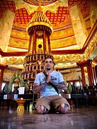 Daniel Lüthy war zwei Monate in Thailand unterwegs, bevor er in Bangkok strandete.